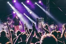 Fotografie z minulého ročníku festivalu Mnichovické rockování.
