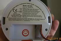 Požární hlásič, ilustrační foto