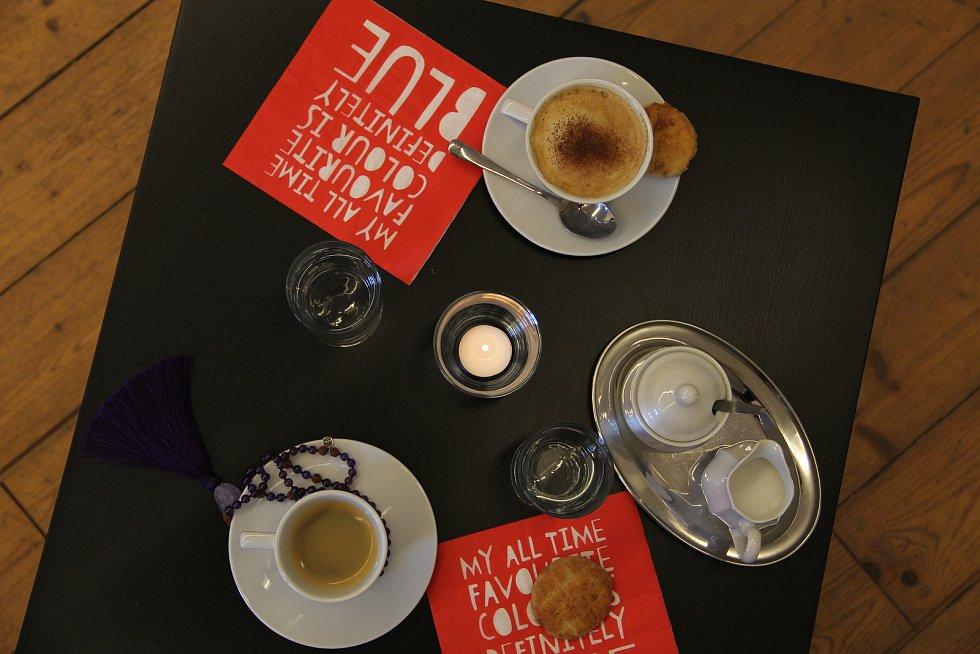 Výstavní program na rok 2018 i doprovodní programy pro letošní rok představila ve čtvrtek Galerie Středočeského kraje v Kutné Hoře – GASK. Na snímku kavárna GASK.