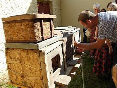 Včelařské muzeum v Louňovicích pod Blaníkem.