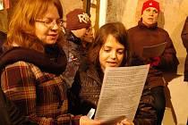Vánoční koncert na Chvojně.