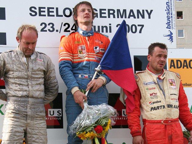 Roman Kalvoda - vítěz.