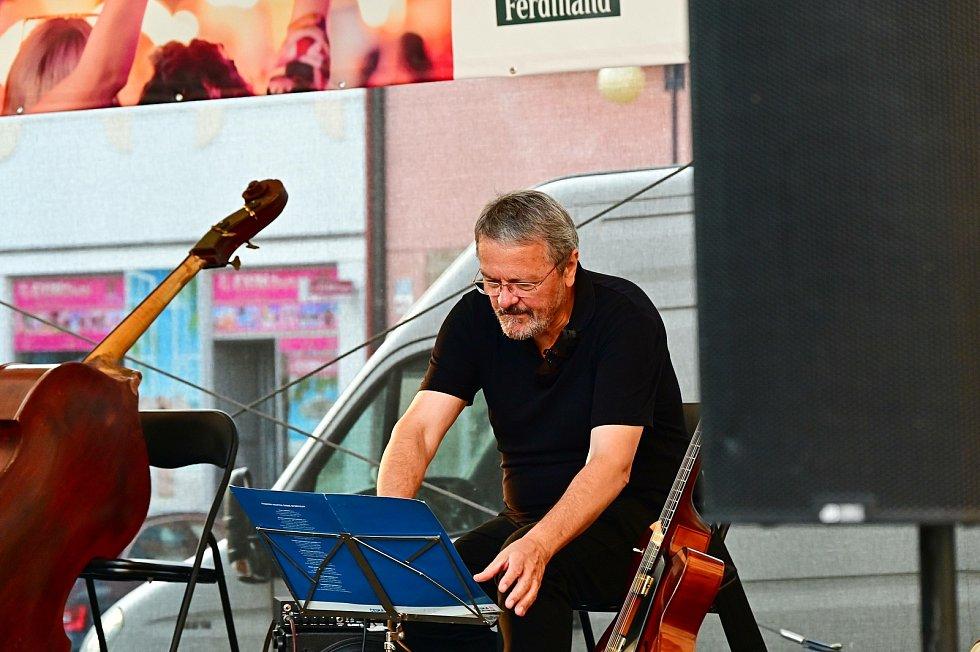 Z koncertu v rámci letní akce Benešov City Live 2021.