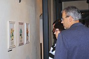 Výstava Magdy Kubiasové v Sázavě.