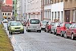 Husova ulice v Benešově.
