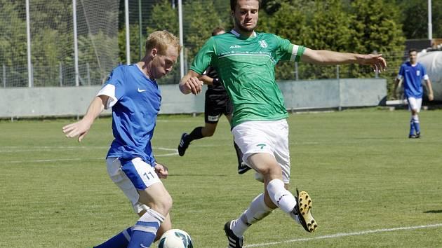 Loko Vltavín - Vlašim 1:0.