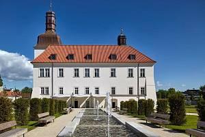 Rekonstrukce arcibiskupského zámku a zahrad na hotel, Dolní Břežany.