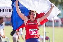 Lenka Matoušková na Deaflympiádě v Turecku získala zlato a překonala v hodu diskem neslyšících olympijský rekord (47,95 metru).