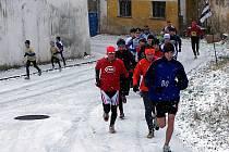 V Jesenici, na tratích posypaných sněhem, zakončili běžci rok 2009.
