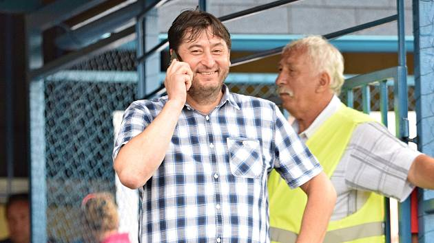 Tomáš Novák, předseda SK Benešov.