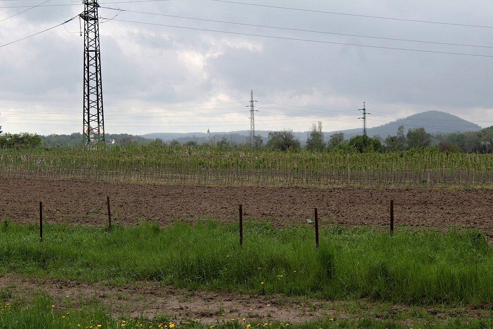 Ovocná školka v Benešově.