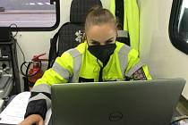 Z dopravně bezpečnostní akce zaměřené na kontrolu nákladní dopravy.
