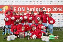 Vítězem turnaje E.ON Junior Cupu ve Voticích se stala Slavie Praha.
