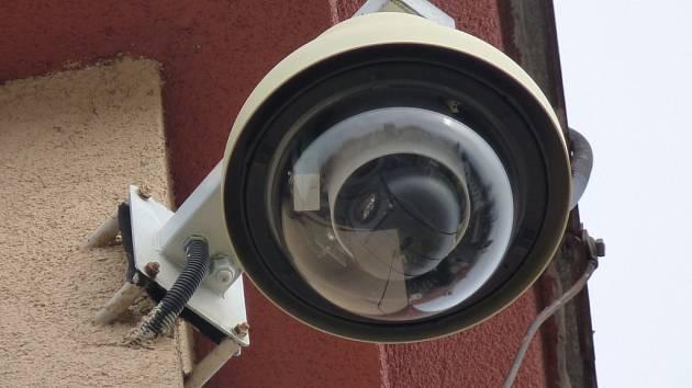 Bezpečnostní kamery hlídají také centrum Vlašimi.