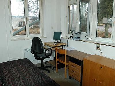 Kancelář personálu.