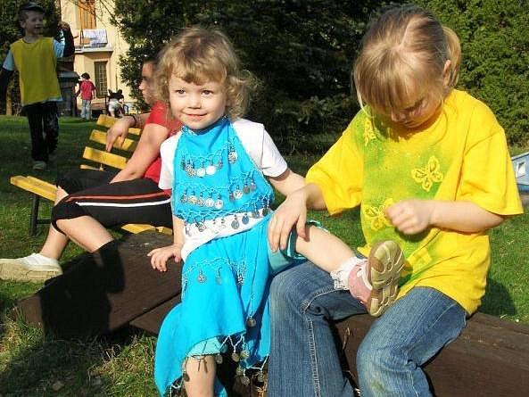 Děti z Racku a Hvězdičky se připravují na Vítání jara