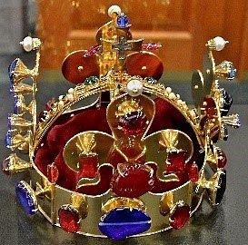 Královská koruna.