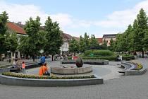 Masarykovo náměstí v Benešově.