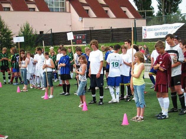 Žákovský minifotbal v Benešově