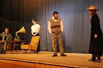 Divadelní hru Pygmalion nacvičili načeradští ochotníci.