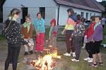 Prázdninové tábory benešovského DDM v Jablonné nad Vltavou.