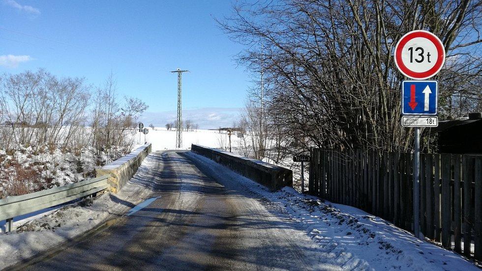 Most u Střezimíře.