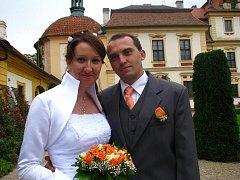 Veronika Šimonová převzala příjmení po svém manželovi Martinu Vančurovi z Benešova.