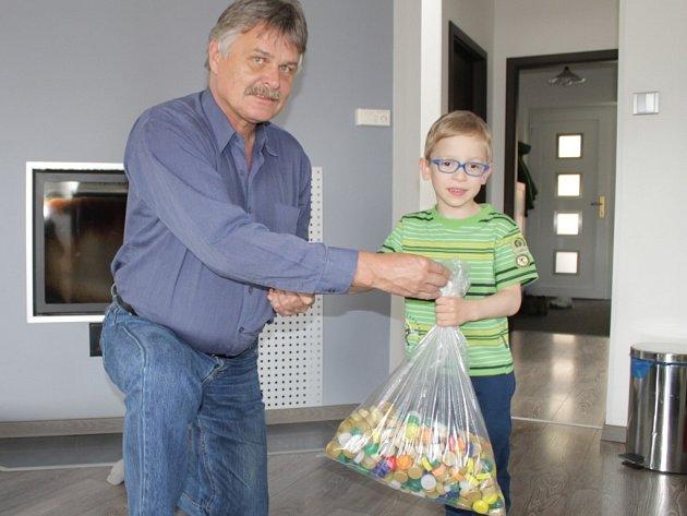 Mirek Piskač s redaktorem Benešovského deníku.