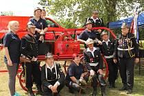 Lidé z obce Vranov a tamní dobrovolní hasiči měli důvod k oslavám.