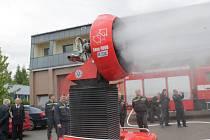 Ventilátor dokáže foukat až 180 tisíc kubických metrů vzduchu za hodinu.