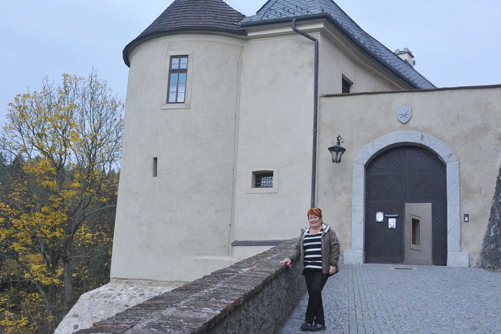 Hrad Český Šternberk ovládla historická atmosféra.