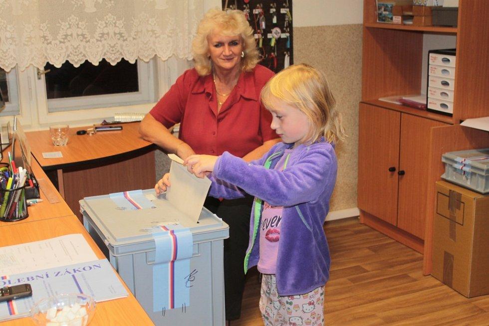 Volby v Hvězdonicích 26. září 2015.