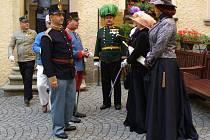 Vzpomínka na atentát na Františka Ferdinanda na Konopišti.