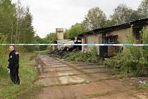 Objekt v areálu benešovských kasáren, který postihl kolem půlnoci 12. května požár, je podle místních obýván bezdomovci.