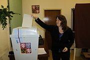 Volby v Chlístově.
