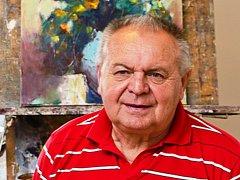 V Táboře své výtvory vystavuje benešovský umělec Jan Dvořák.