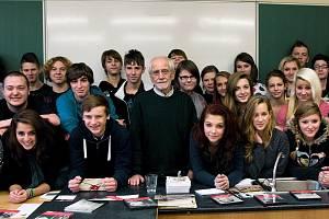 Příběhů bezpráví se ještě loni zúčastnil také spisovatel a někdejší politický vězeň Jiří Stránský.