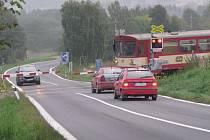 Přejezd bude dovybavený světelnou závorou ve vozovce.