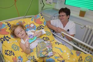 Akce Studna naděje v Nemocnici Rudolfa a Stefanie v Benešově.