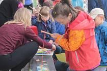 V sobotu oslavily děti v Bystřici Den dětí společně s Večerníčkem.
