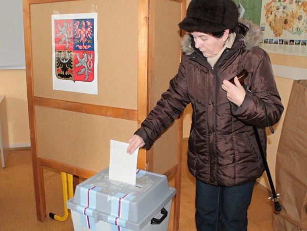 Volby ve Vlašimi.