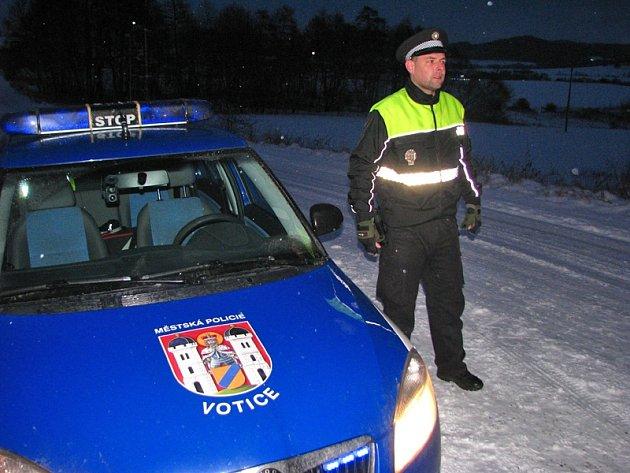 Votičtí strážníci působí na základě veřejnoprávních smluv i v okolních obcích.