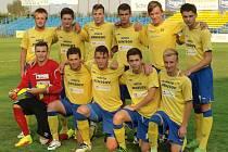 Fotbalový zápas U19 Benešov - Liberec 2:6.