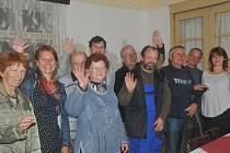 Zájemci o dějiny obce byli s neobvyklou přednáškou z historie obce spokojeni.