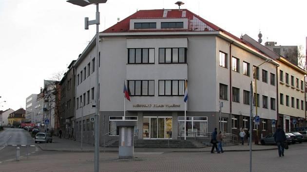 Vlašimská radnice.