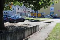 Parkoviště Pod Brankou je nyní bez stánku, napřesrok by tam měli vyrůst hned dva.