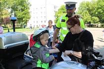 Mateřské centrum Hvězdička na Benešovsku připravilo pro děti Dopravní hřiště