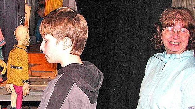 Představení o Kašpárkovi mělo minule úspěch. Foto:Archiv/Deník