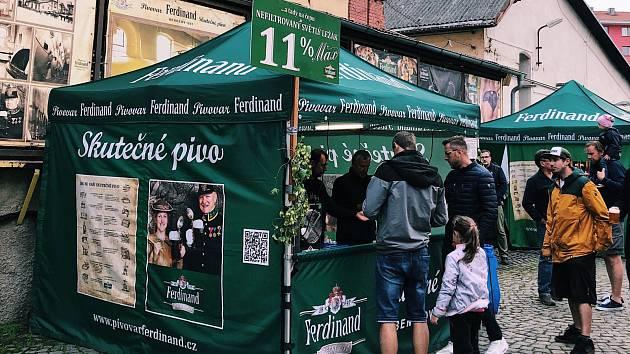 Pivovar Ferdinand se s létem rozloučil pivovarskými slavnostmi.