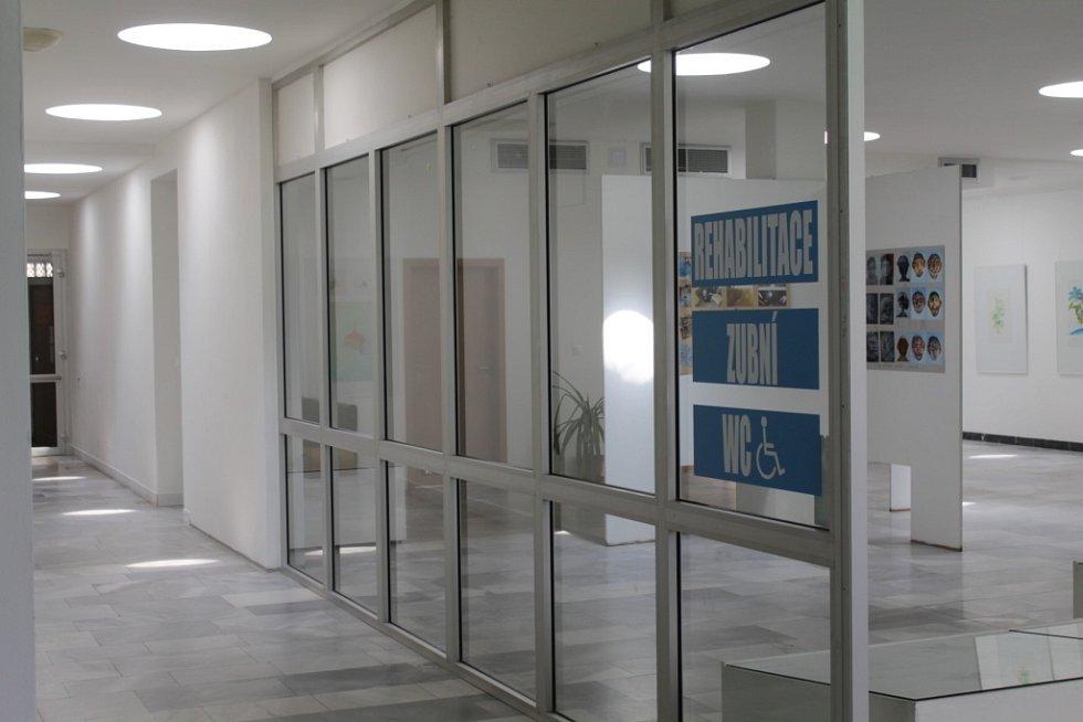 Toalety v centru Benešova.